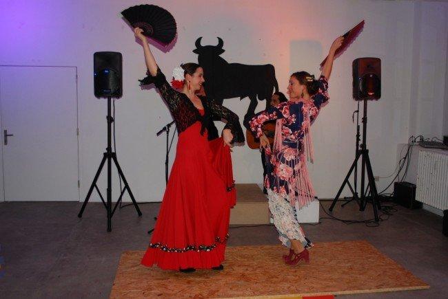 Die beiden spanischen Flamenco-Tänzerinnen verstanden ihr Handwerk bestens.