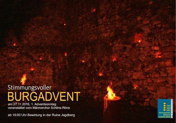 Burgadvent 1. Adventsonntag