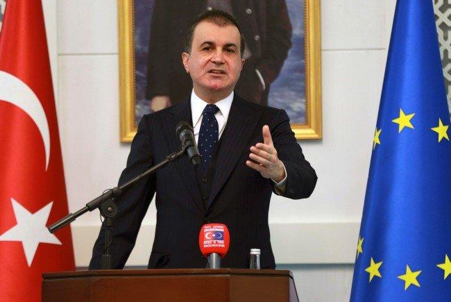 Der türkische Europaminister Celik weilt für Gespräche mit der EU in Brüssel.