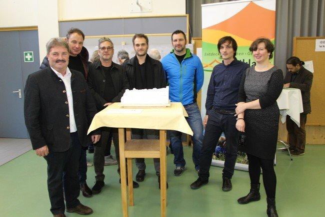 Siegerprojekt im Architekturwettbewerb vorgestellt