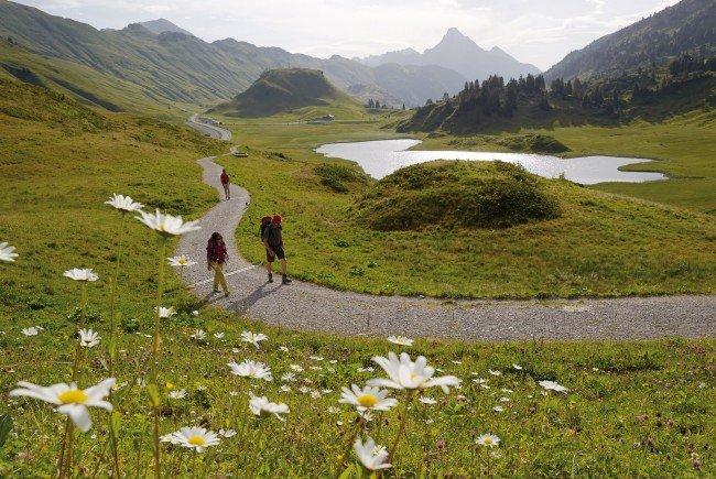 Vorarlberg ist auch im Sommer bei Touristen beliebt.