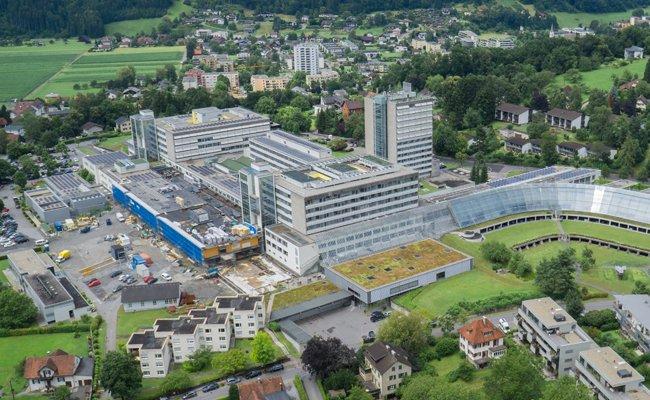 Besonders große Investitionen stehen für das LKH Feldkirch auf dem Plan.