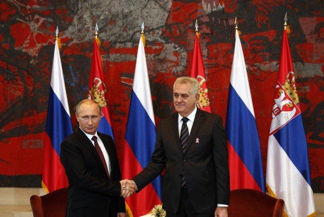 Putin weitet Einfluss aus.