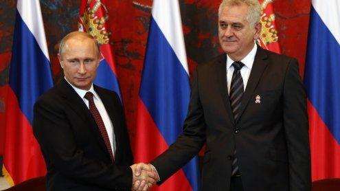 Propagandaschlacht auf dem Balkan - Putin sticht die EU aus
