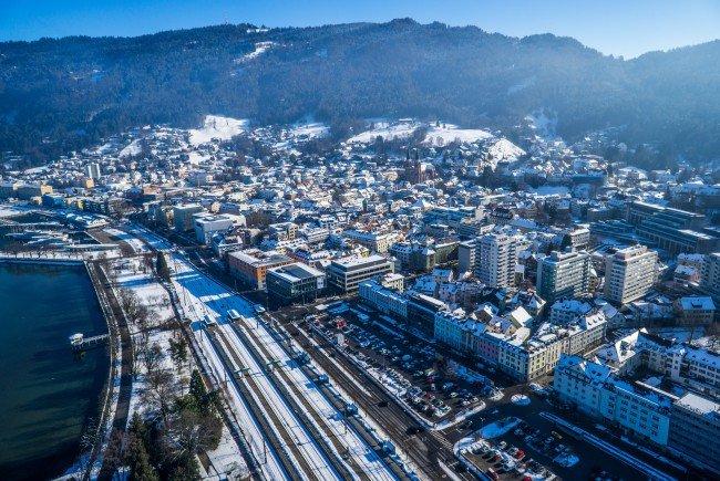 Das Seestadt-Areal aus der Luft.