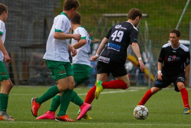 FC Hittisau gewann Wälderderby