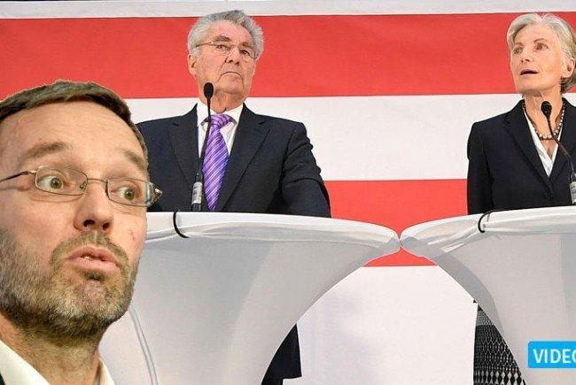 """Kickl: """"Groupies der Großen Koalition"""""""