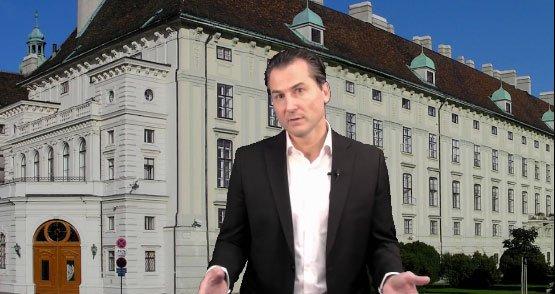 Robert Lugar hält Brandrede für Norbert Hofer