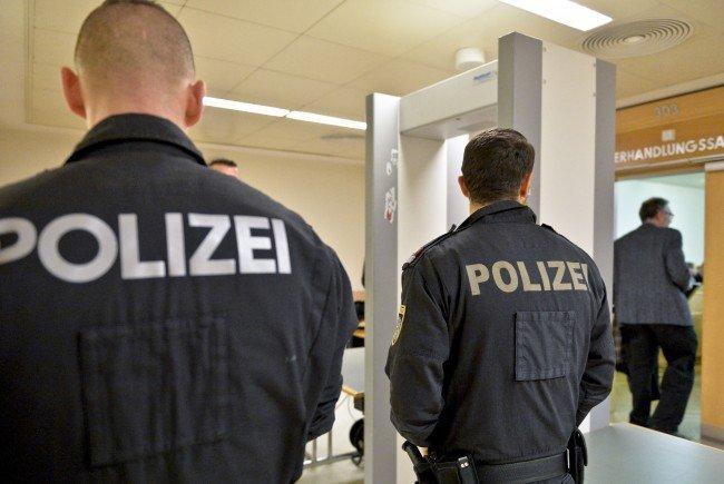 Höchste Sicherheitsvorkehrungen beim Wiener Mafia-Prozess