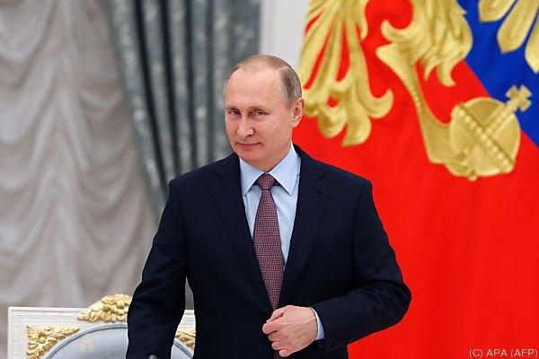 Putin wendet sich an sein Volk