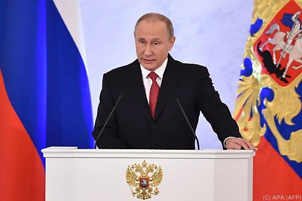 Putin sprach vor rund 1000 Amts- und Würdenträgern