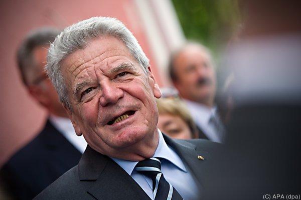 Gauck ist für den Meinungsaustausch