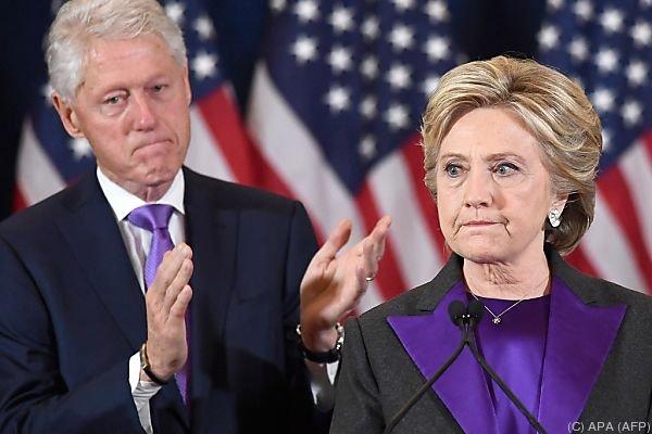 Die unterlegene Clinton holte 2,5 Millionen Stimmen mehr