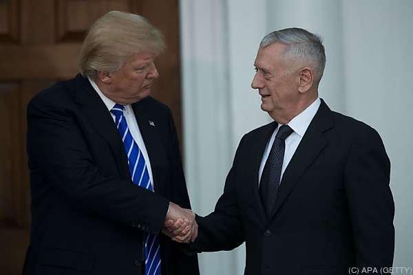 Mattis hat  40 Jahre Militärdienst hinter sich