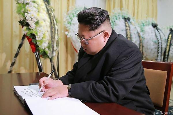 Kim Jong-Un befehligte die Armee selbst