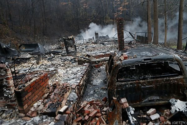 Rund 14.500 Menschen wurden evakuiert