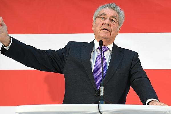 Fischer: SPÖ soll eine Koalition mit der FPÖ nicht ausschließen