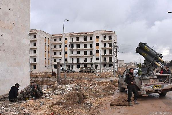 Rebellen und Regierungstruppen kämpfen um Ost-Aleppo