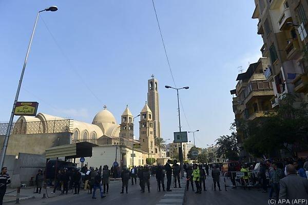 Mindestens 20 Tote bei Explosion nahe der Kathedrale von Kairo