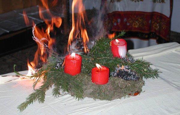 Brandgefährliche Weihnachtszeit