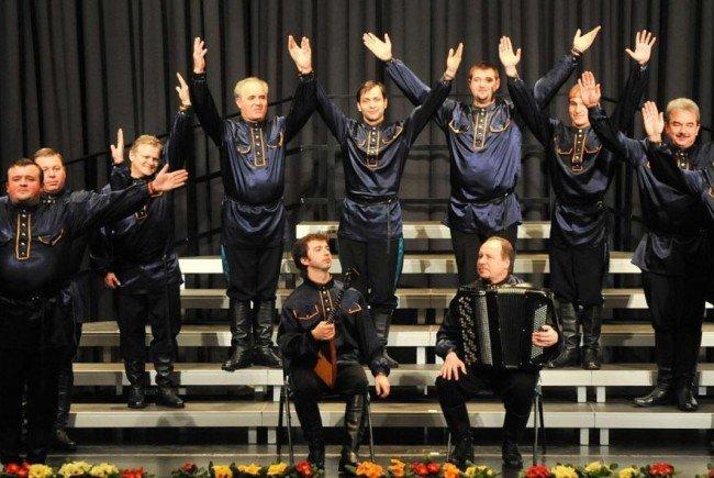 """Der """"Ural Kosaken Chor"""" kommt Ende Dezember nach Bürserberg."""