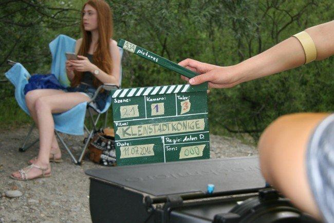 Bei den Dreharbeiten hatten die Jugendlichen viel Spaß. Das Ergebnis wird nun im RIO-Kino präsentiert.