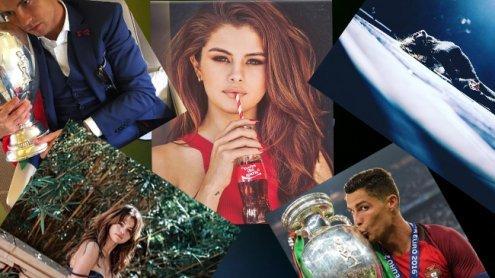 Eine Cola-Flasche und ein Pokal: Die beliebtesten Instagram-Bilder