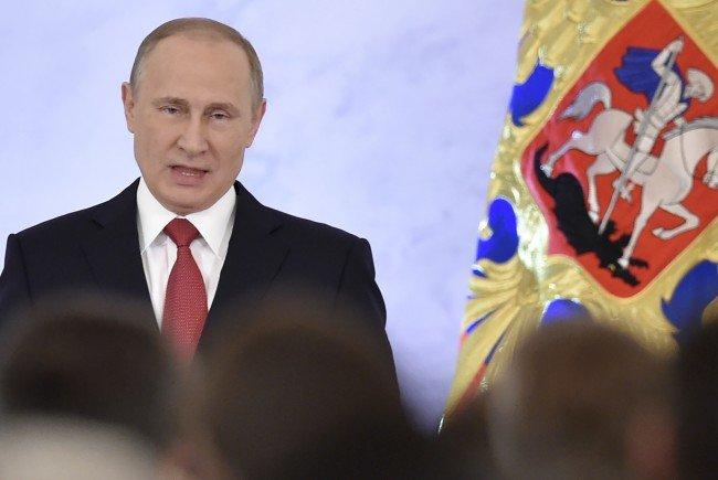 Rede zur Lage Russlands: Es geht viel um Wirtschaft und Inneres.