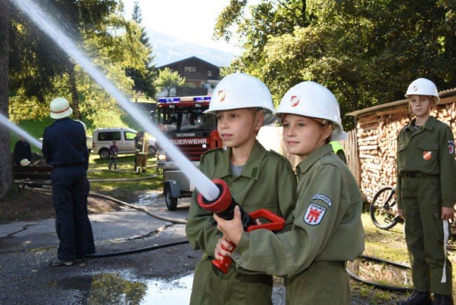 Auch die Feuerwehrjugend wird gefördert