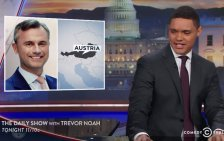 """Trevor Noah spottet in """"Daily Show"""" über Hofer"""