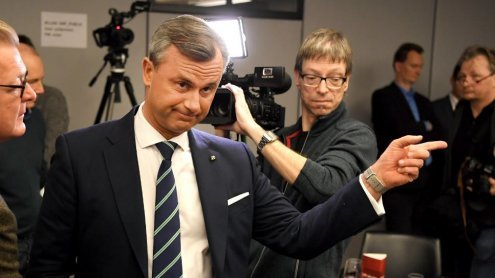 Livestream: Wahlkampfabschluss von FPÖ-Kandidat Norbert Hofer