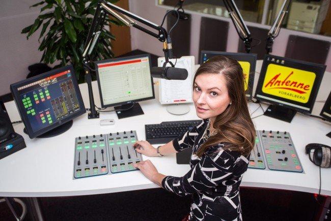 Isabella Canaval vom ANTENNE VORARLBERG – Frühstücksradio