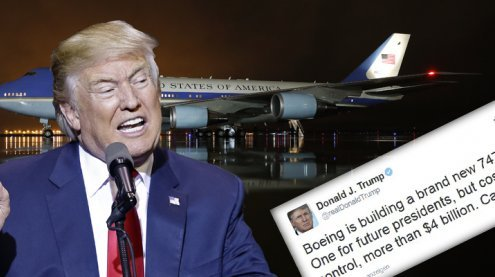 Milliarden-Kosten: Trump bestellt neue Air Force One via Twitter ab
