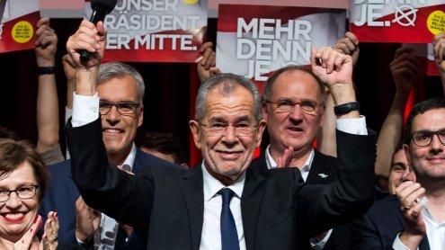 BP-Wahl: Van der Bellen kommt mit Briefwahl auf 53,8 Prozent