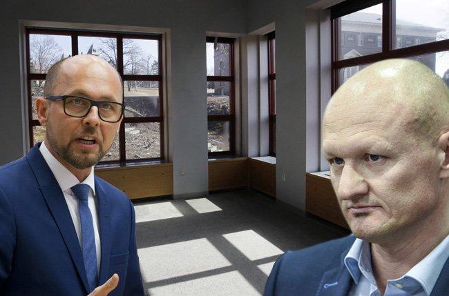 Sind sich uneins, wie man leerstehende Wohnungen auf den Markt bringen kann: SPÖ-Klubobmann Michael Ritsch und FPÖ-Wohnbausprecher Joachim Weixlbaumer.