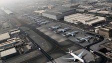 Flughafen von Dubai meldet Passagierrekord