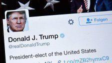 """Donald Trump: """"Ich mag twittern nicht"""""""