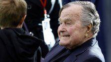 George H.W. Bush verließ die Intensivstation