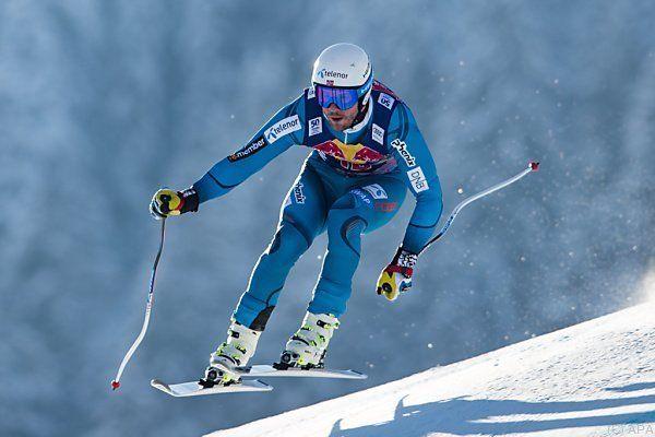 Wintersport: Olympiasieger Mayer gewinnt Super-G in