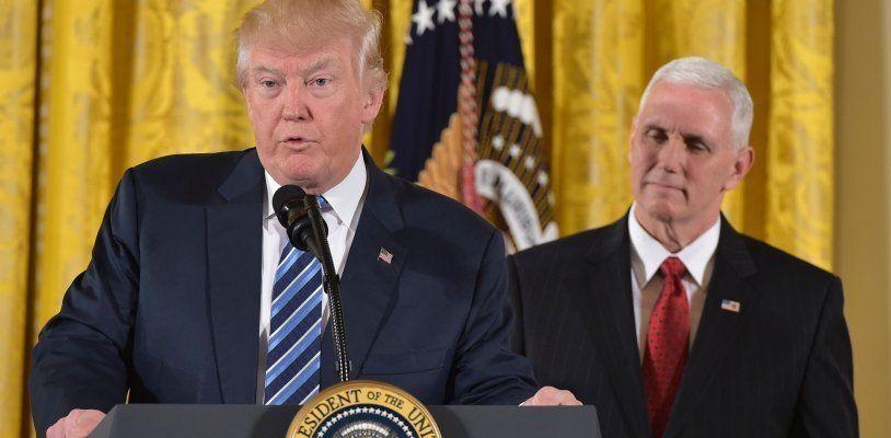 US-Präsident Trump nimmt die Arbeit auf - mit einem Frontalangriff auf die Medien