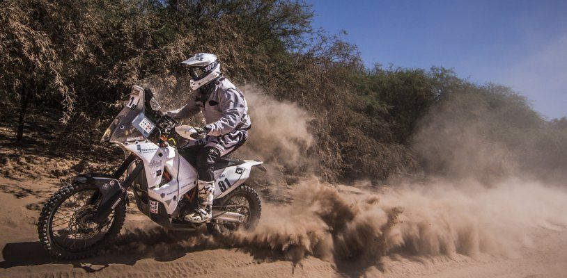 Legendäre Rallye Dakar: Der Voralberger Markus Berthold wagte das Abenteuer