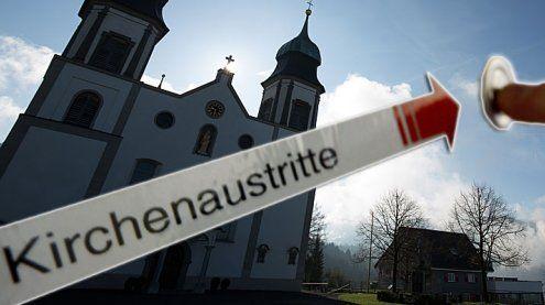 Vorarlberg: Höchster Anstieg an Kirchenaustritten in Österreich