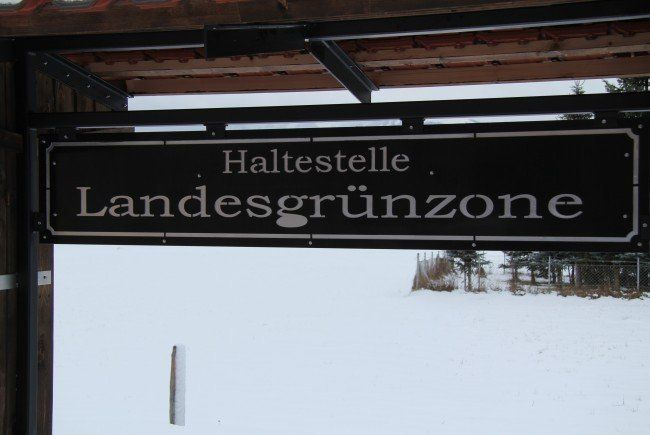 Die Umwidmung der Landesgrünzone in Weiler ist umstritten.
