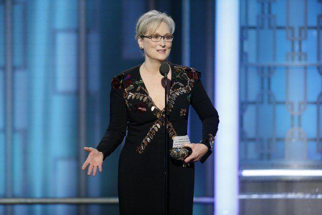 Meryl Streeps Rede bei den Golden Globes sorgte für Aufsehen.