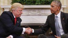 So will Obama Donald Trump eins auswischen