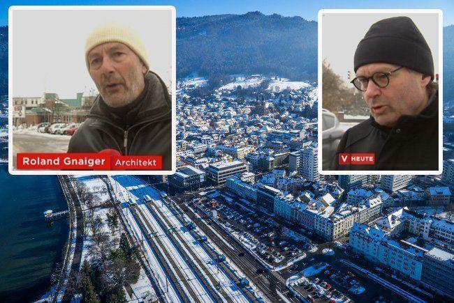 Unterschiedlicher Meinung: Roland Gnaiger und Helmut Kuess.
