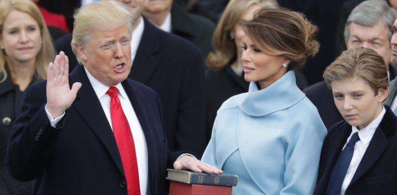 Trump ist als 45. US-Präsident vereidigt