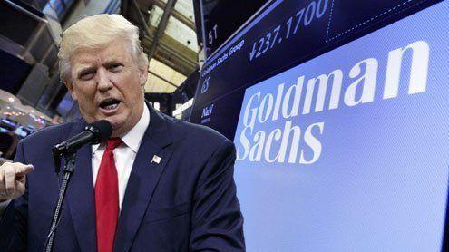 Wie viel Macht hat Goldman Sachsin Donald Trumps Regierung?