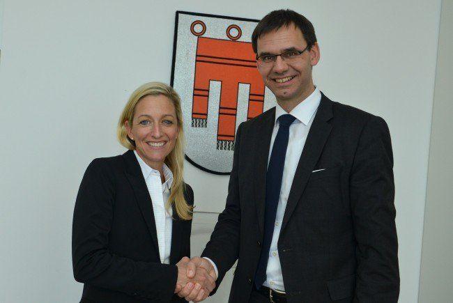Landeshauptmann Wallner begrüßte die scheidende US-Botschafterin Alexa Wesner im Landhaus in Bregenz