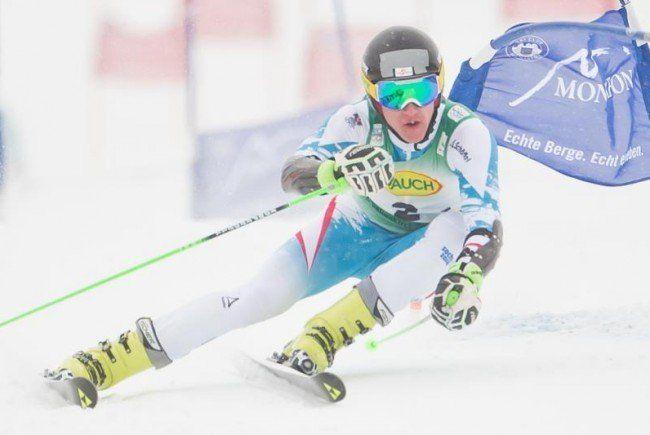 Raphael Haaser gewinnt in Mellau/Damüls